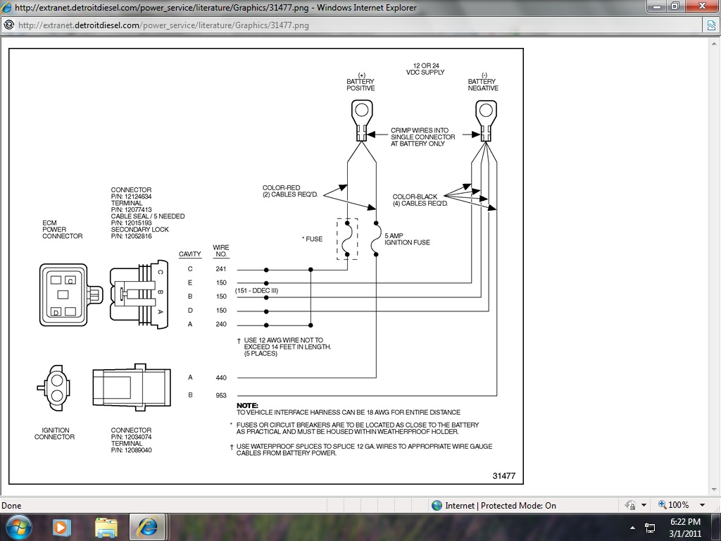 Detroit Series 60 Ecm Wiring Diagram - Wiring Diagram ... on