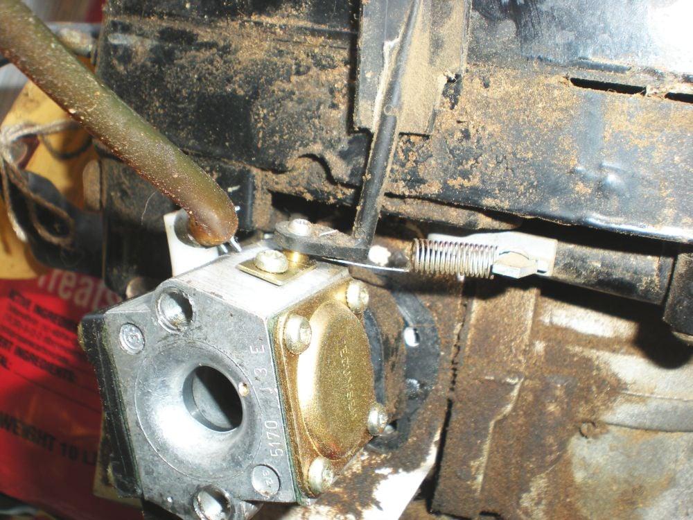Tc on Carburetor Linkage