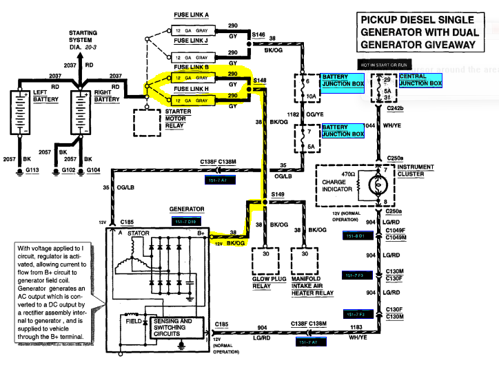 97 ford f 350 pcm wiring diagram