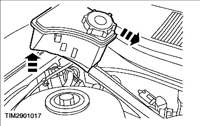 diagram of radiator on 02 mountaineer