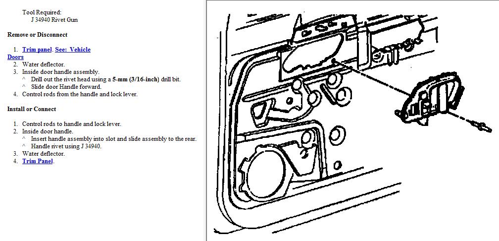 2006 chevy silverado 1500 drivers door diagram html