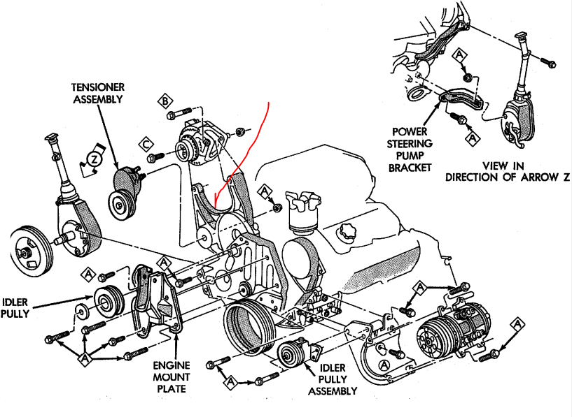 1993 chrysler lebaron 3 0 engine diagram