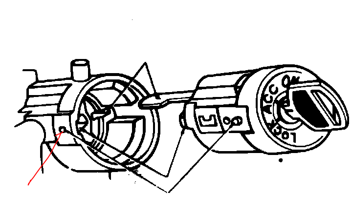 i need a diagram for a steering column to change the