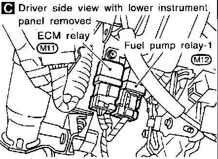 2001 Maxima Fuse Box Diagram in addition 1997 Infiniti Qx4 Wiring Diagram And Electrical System Service And Troubleshooting likewise Crossfire 150 wiring diagram also 1036405 Toyota One Wire Alternator Upgrade Simple Wiring 2 in addition Nissan Frontier Fuel Filter Location. on 1999 nissan maxima starter relay location
