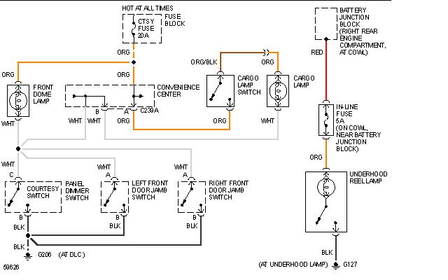 chevy dome light wiring diagram  chevy  free engine image