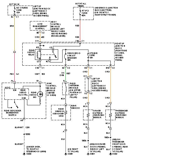 2008 impala rear defroster wiring diagram free picture 2008 chevrolet impala tail light wiring diagram free picture