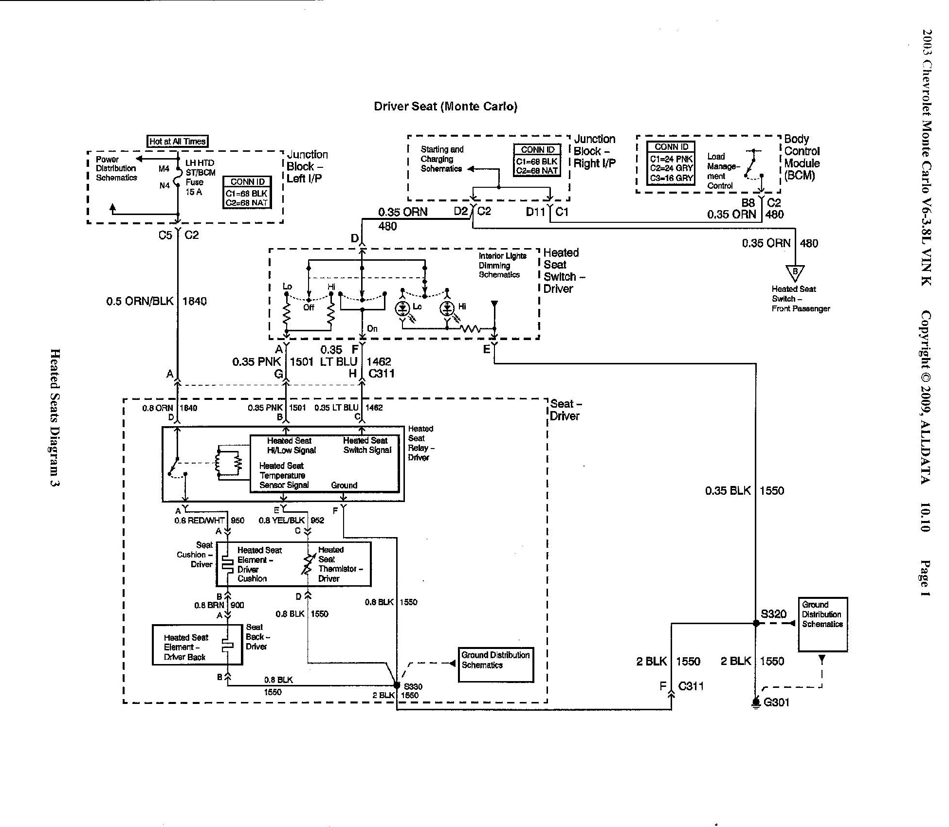 2003 chevy monte carlo diagram 2003 free engine image for user manual