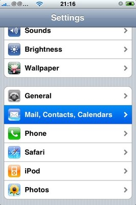 cannot send email on my iphone 6