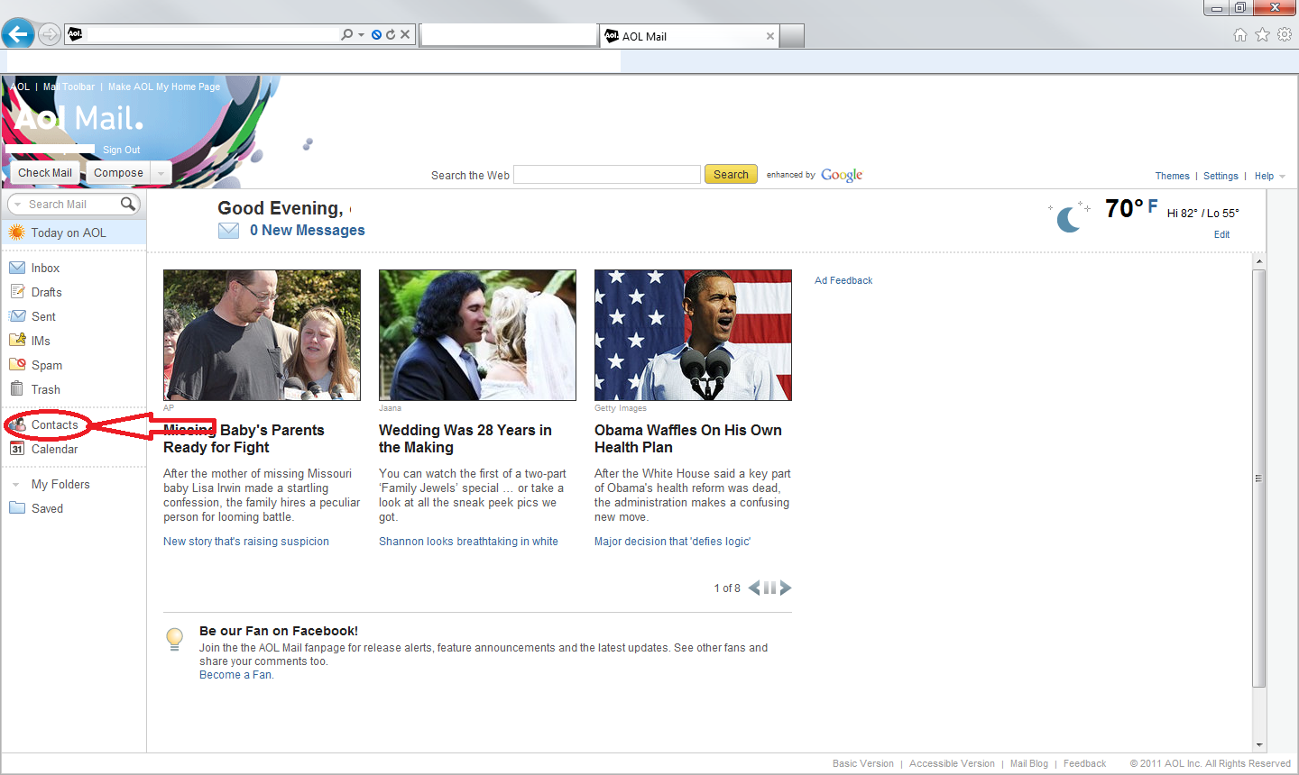 How to Search Email in AIM Mail or AOL Mail - Lifewire