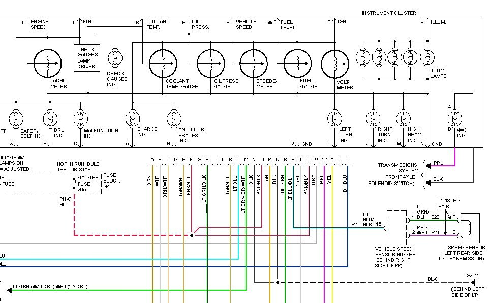 i need a wiring schematic for a 1994 chevrolet ck 1500 graphic