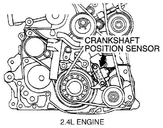dodge intrepid camshaft sensor location