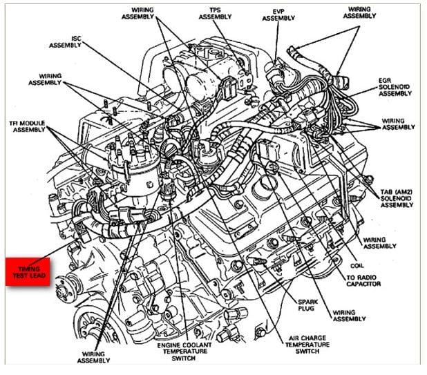 1978 ford 351m firing order