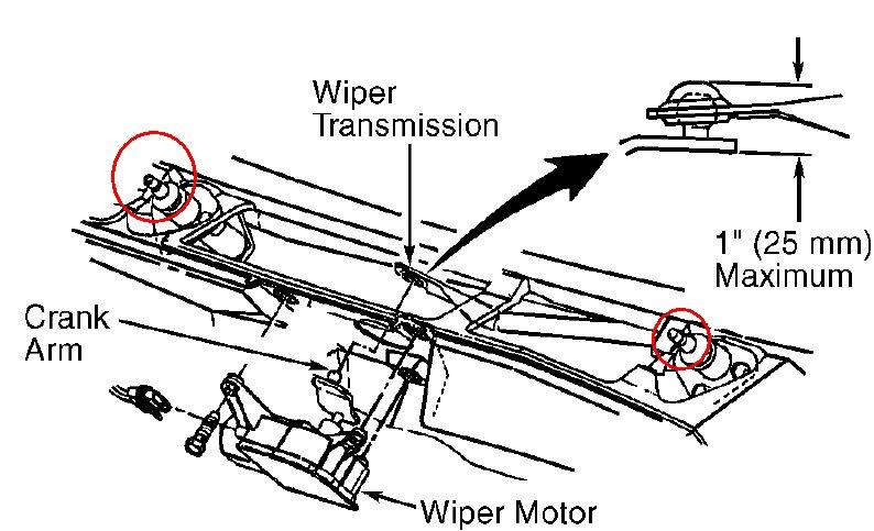 how wiper motor works