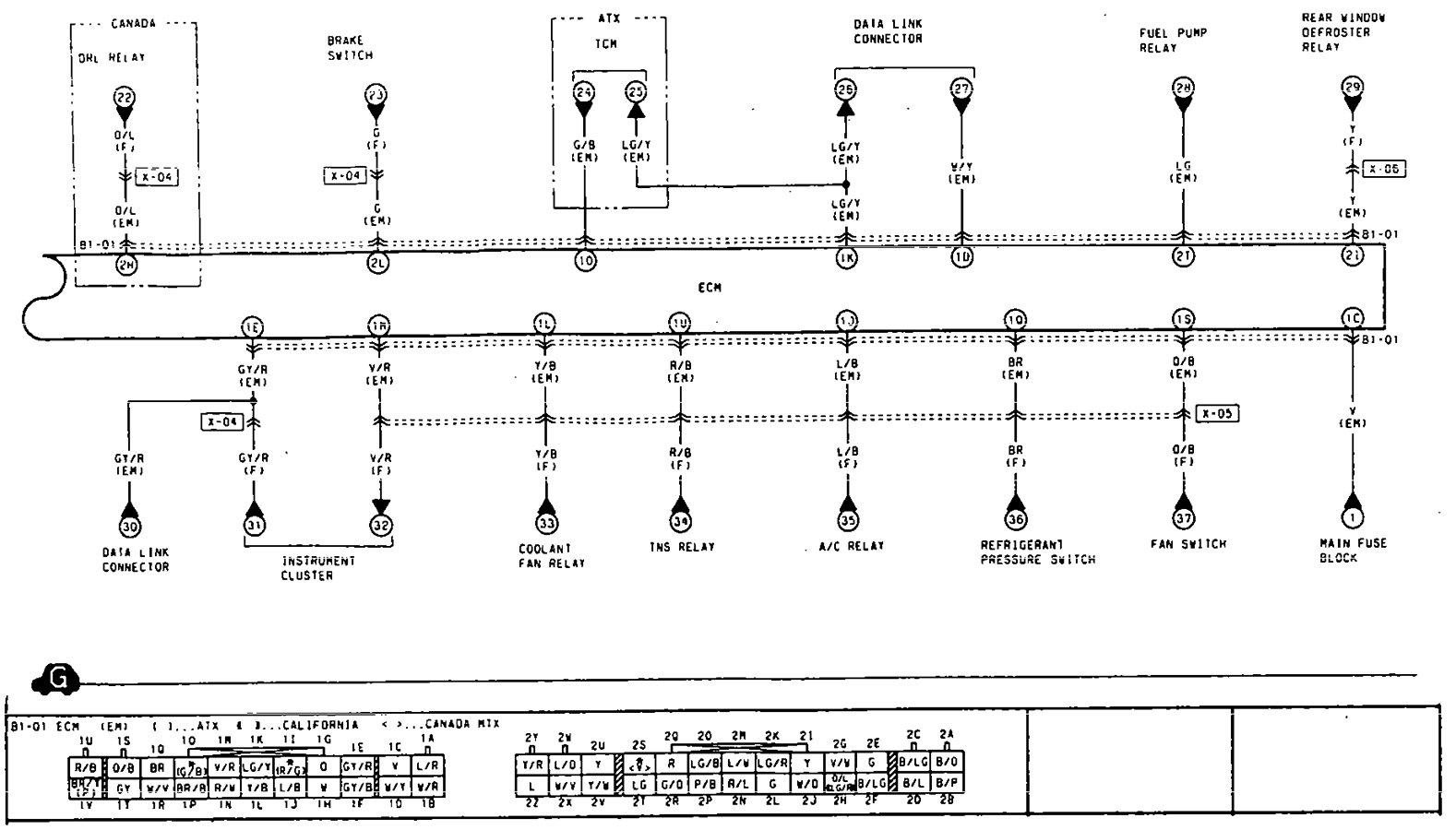 2000 mazda millenia vacuum diagram 2000 free engine image for user manual
