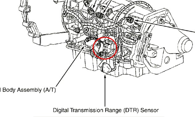 how do you replace a transmission range sensor on a 2000
