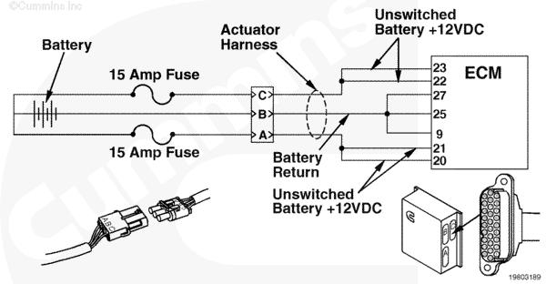 n celect ecm wiring diagram unswitched battery connection n cummins m11 ecm wiring diagram nodasystech