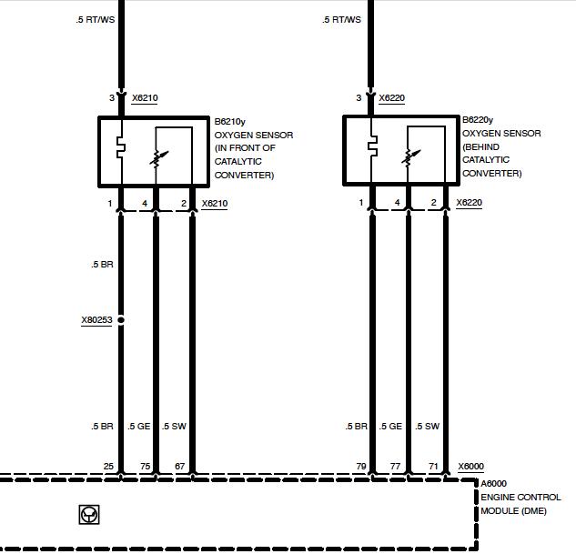 1/1 o2 sensor heater code comes up--has new upstream ... hot water heater wire diagram 02 sensor heater wire diagram #13