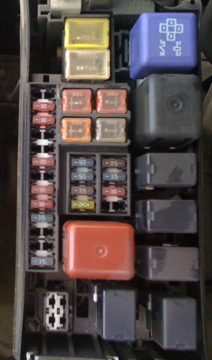 1999 4runner changed the car battery since then having 1999 4runner fuse  box 1999 toyota 4runner