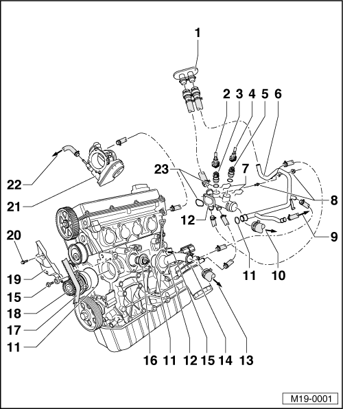 2001 Vw Beetle Cooling System Diagram