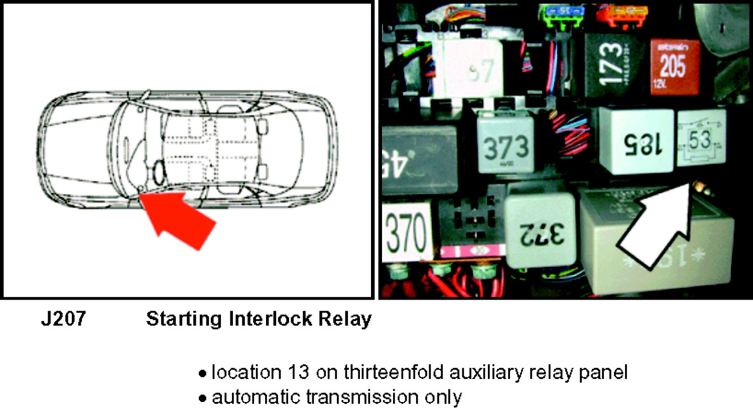 starter relay location on a 2000 vw golf starter free 2002 volkswagen  passat fuse box diagram 2002 vw passat ac relay location