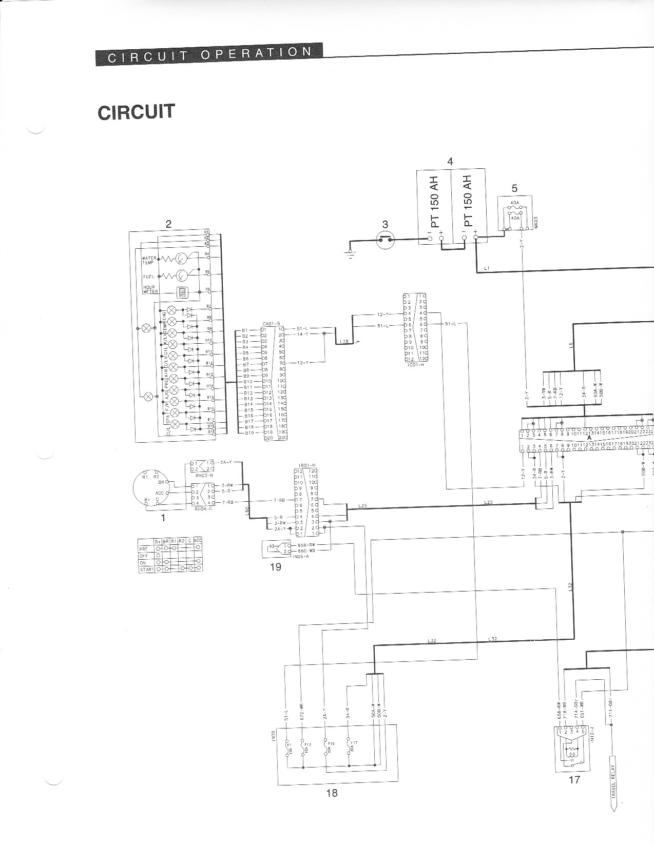 volvo construction wiring diagram key i have a 1990 samsung se280 3 excavator i have power to  i have a 1990 samsung se280 3 excavator i have power to