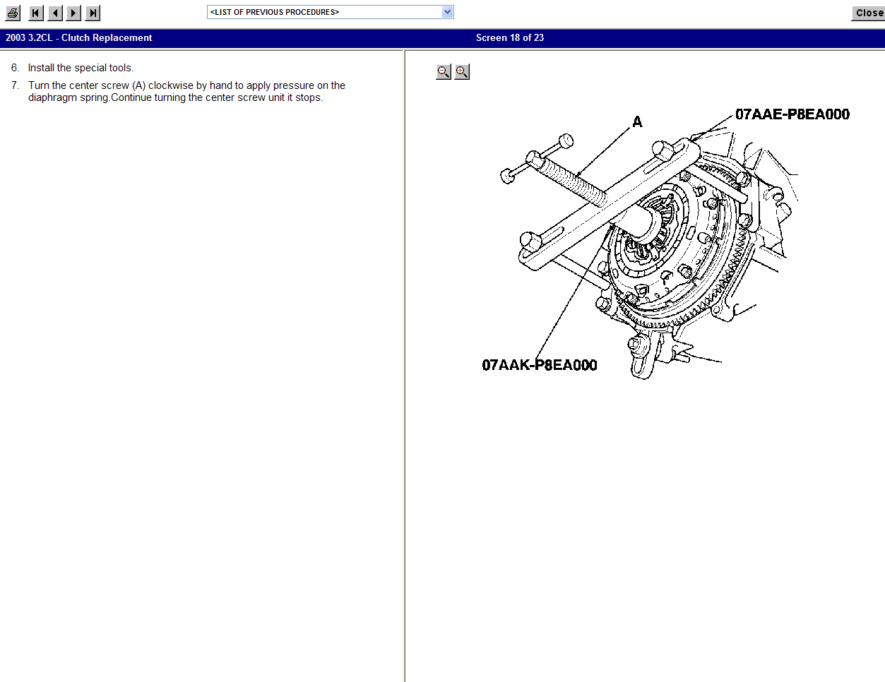 how to do a clutch replacement  on a 2003 acura cl