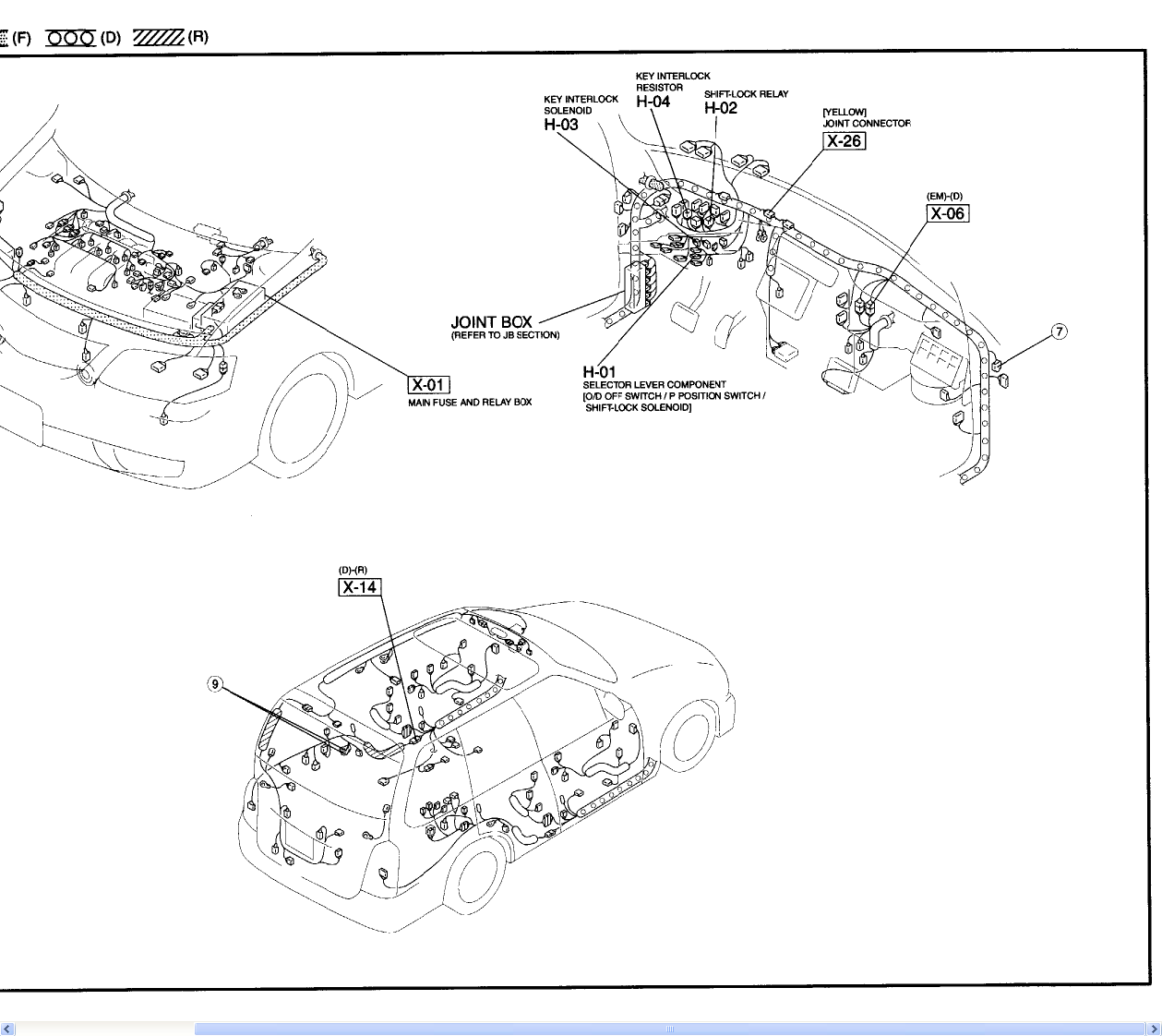 1993 mazda navajo transmission solenoids replacement