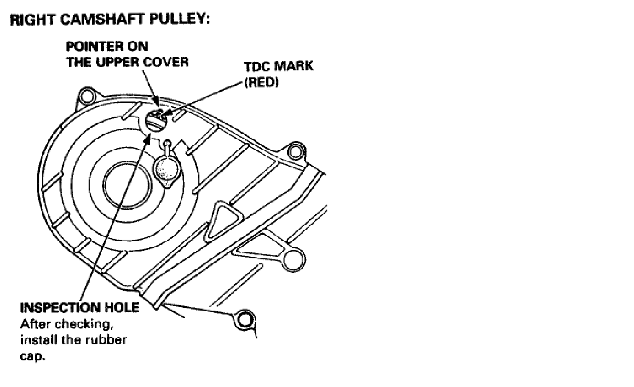 when is the timing belt do on a 2010 mdx