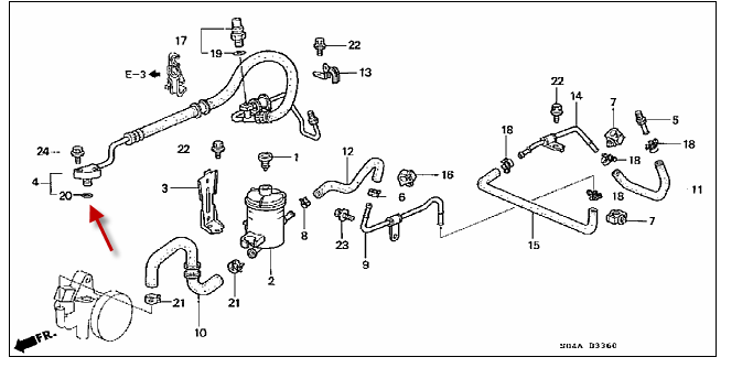 06 Honda Civic Power Steering Pump Diagram 06 Free