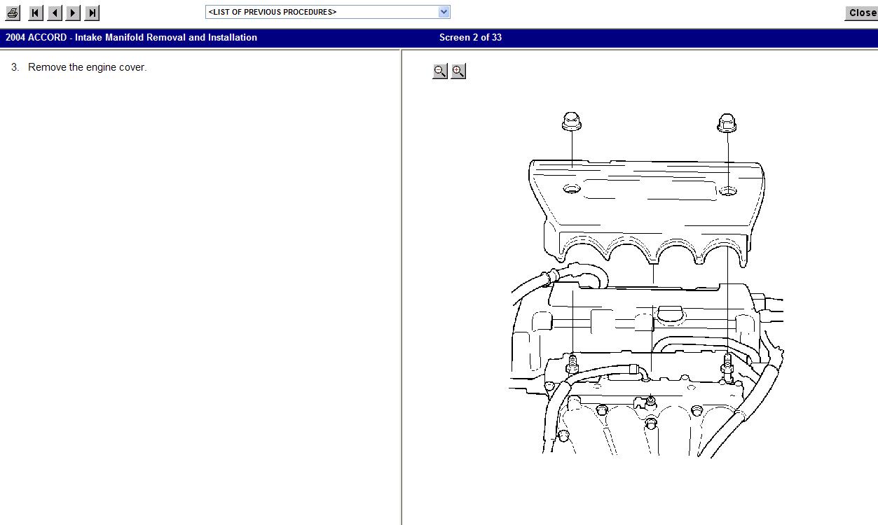 2004 honda crv service manual