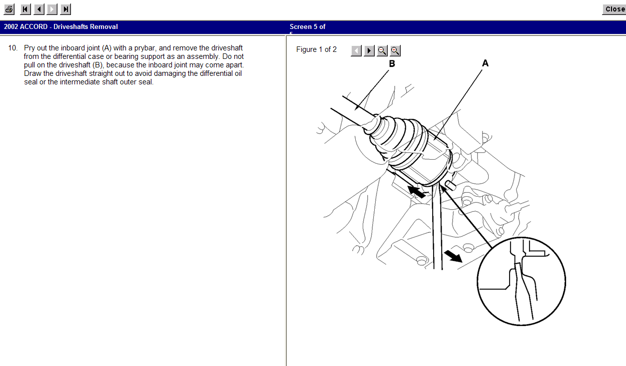 I Need Instruction On How To Replace A Cv Joint On The