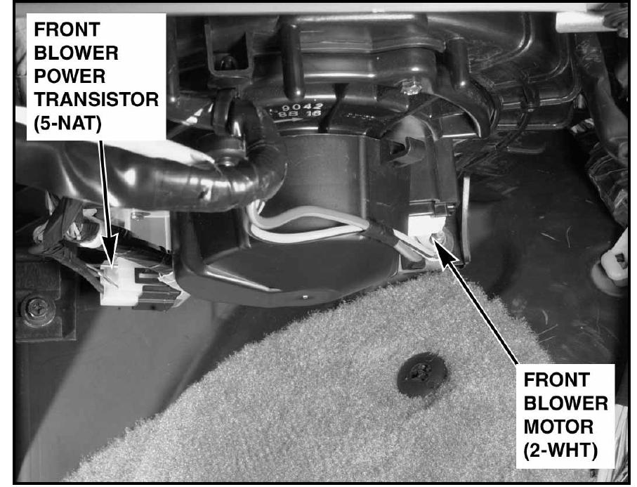 Inside a c heater blower fan not working for Heater blower motor not working