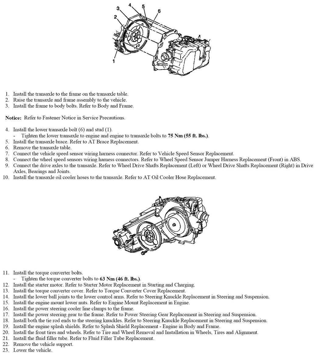 how to take out a transmission