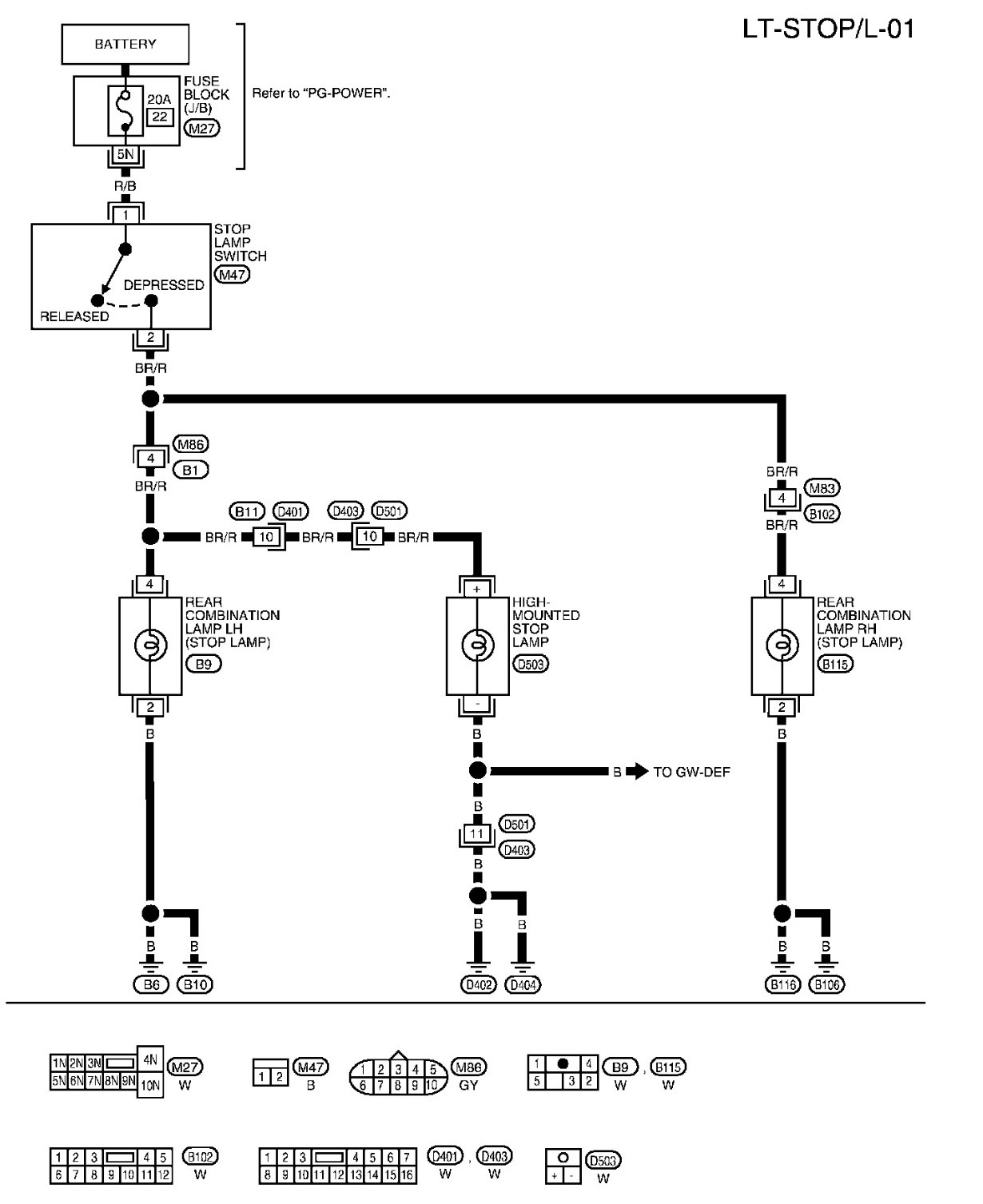 [ZTBE_9966]  2007 Xterra Wiring Diagram Lights. i have a 2003 nissan xterra the left and  right brake. how to wire backup lights to a 3 way switch second. i have a  2001 nissan | 2007 Xterra Wiring Diagram |  | 2002-acura-tl-radio.info