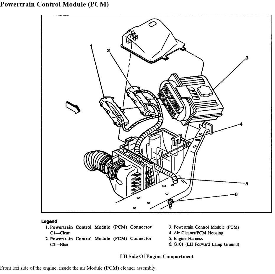 pcm for 1997 chevy venture wiring diagram