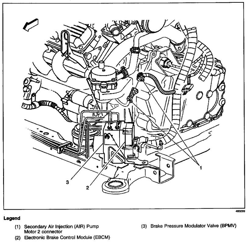 Discussion T10962 ds542027 in addition 2000 Silverado Front Suspension Diagram also Crank Sensor Location 68932 further Schematics wiring furthermore Chevrolet Cavalier 2 0 Engine Diagram. on 2007 impala abs wiring diagram