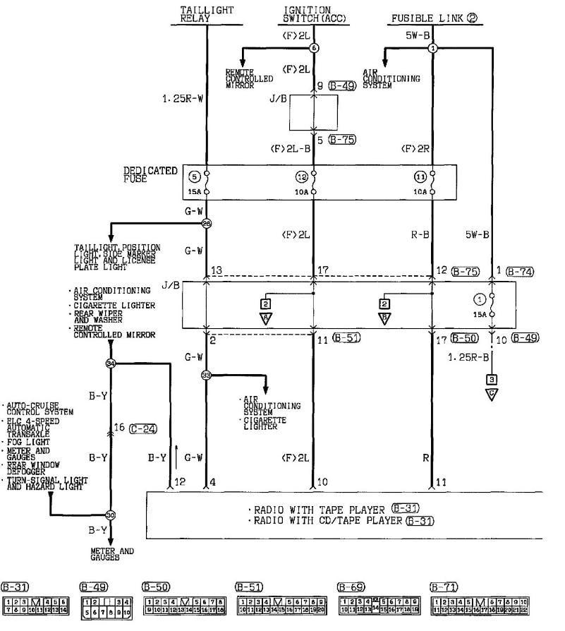 2001 Mitsubishi Eclipse Radio Wiring Diagram : Wiring diagram for mitsubishi eclipse free