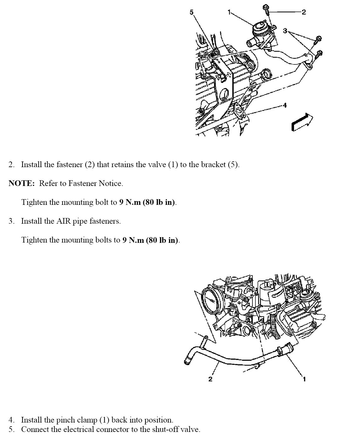 p0411 secondary air injection system