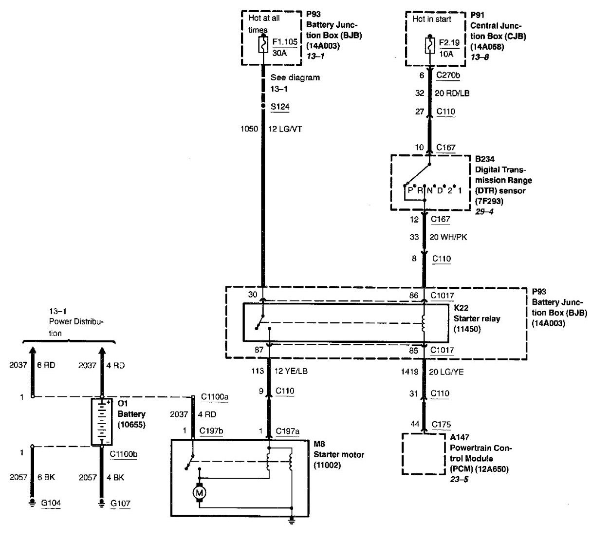 2002 Ford Windstar Starter Wiring Diagram 2002 Free Download – Ford Starter Wiring Diagram