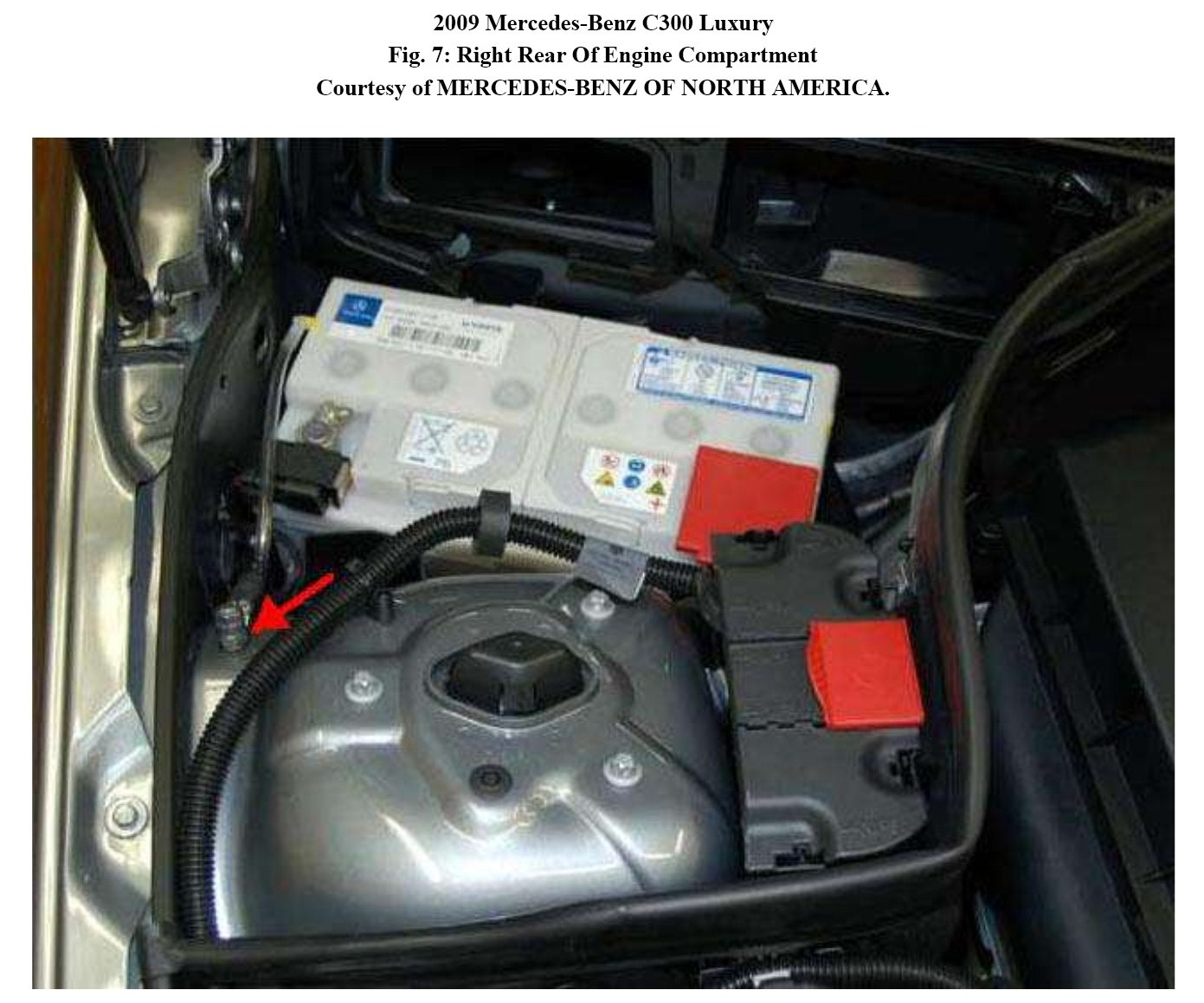 2011 mercedes benz e350 auxiliary battery location 2014 for Mercedes benz batteries