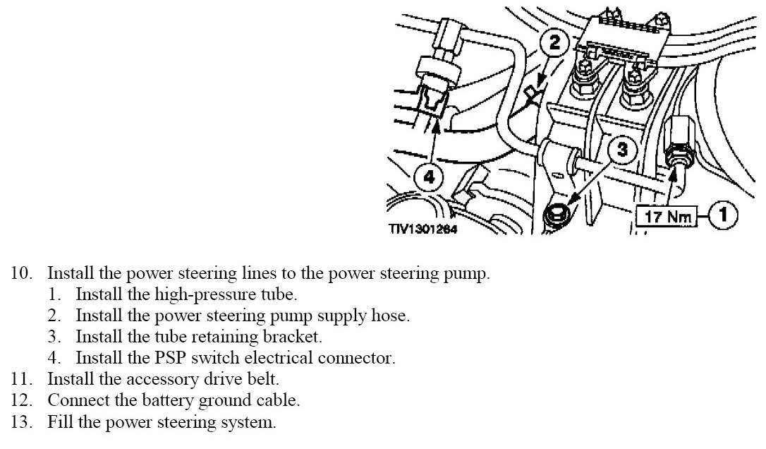 Where Is The Power Steering Pump Located At On A 2000 Mercury Cougar