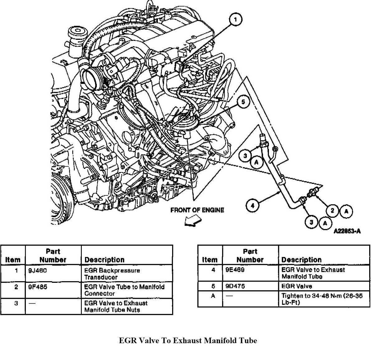7 3 powerstroke egr location  7  free engine image for