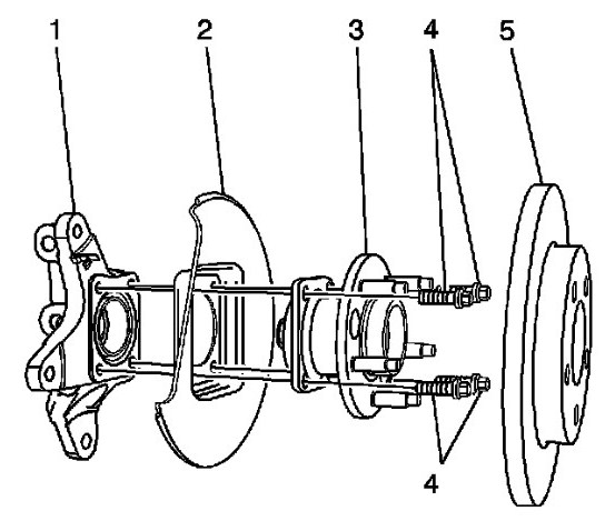 2006 buick lacrosse cxl right rear brake assembly diagram