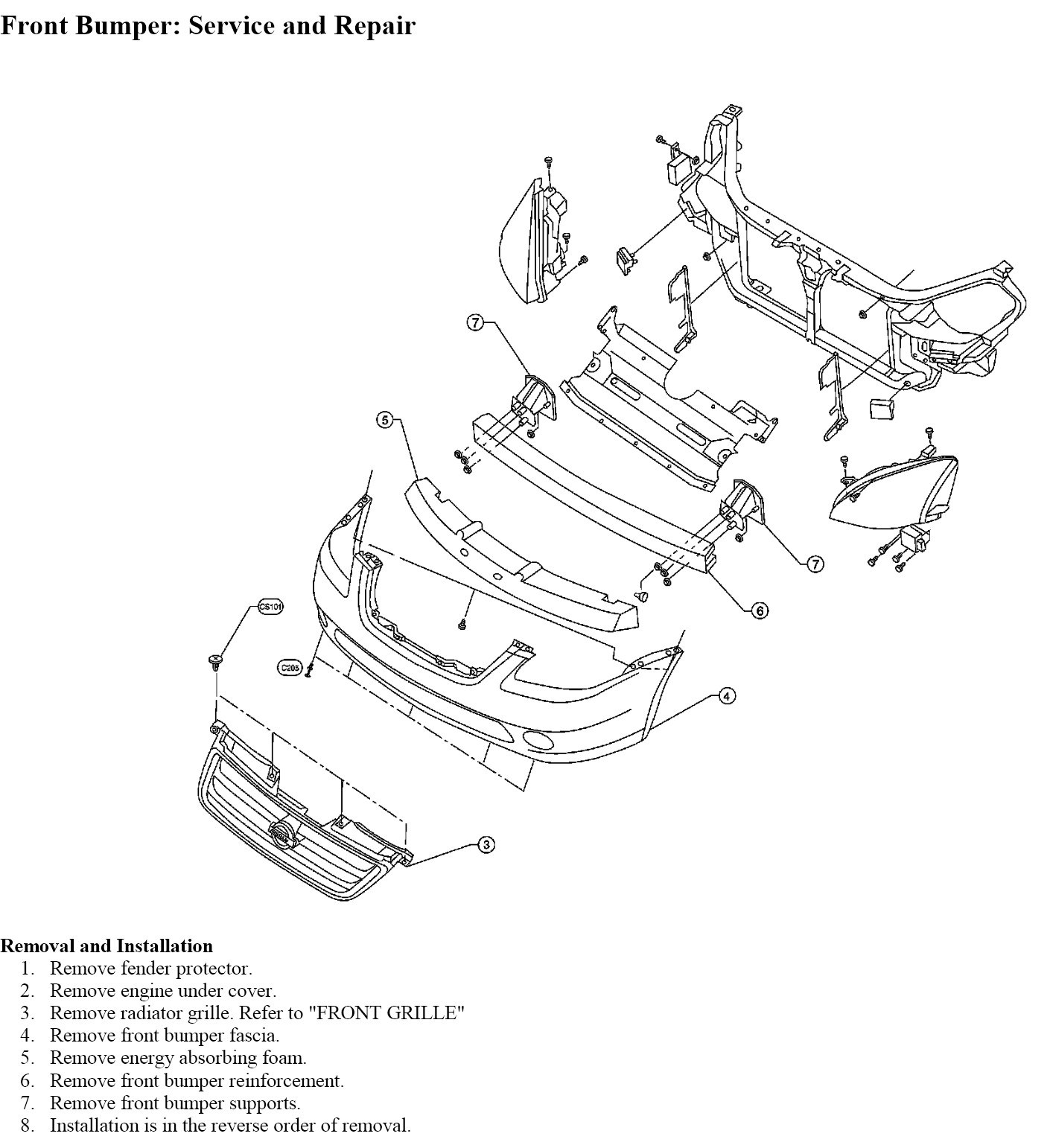 diagram 2007 nissan altima headlights