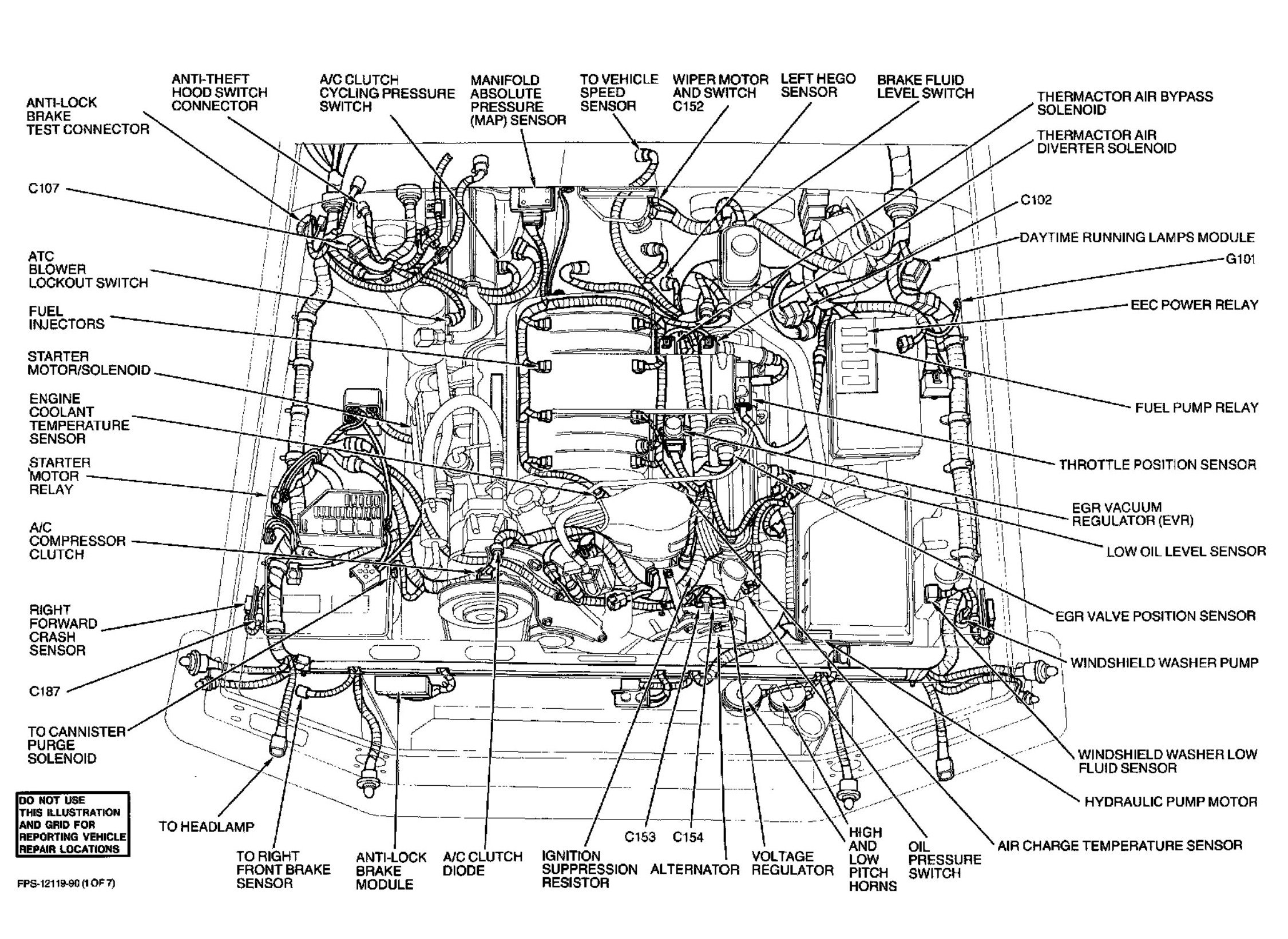 Ford Crown Victoria Engine Diagram | Wiring Library