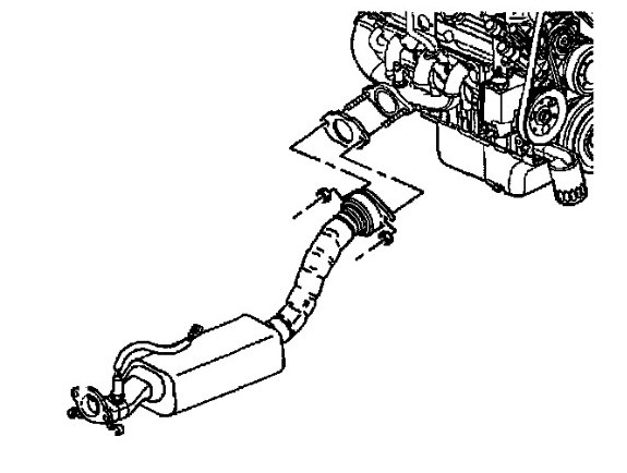 2000 chevy impala exhaust system diagram  2000  free