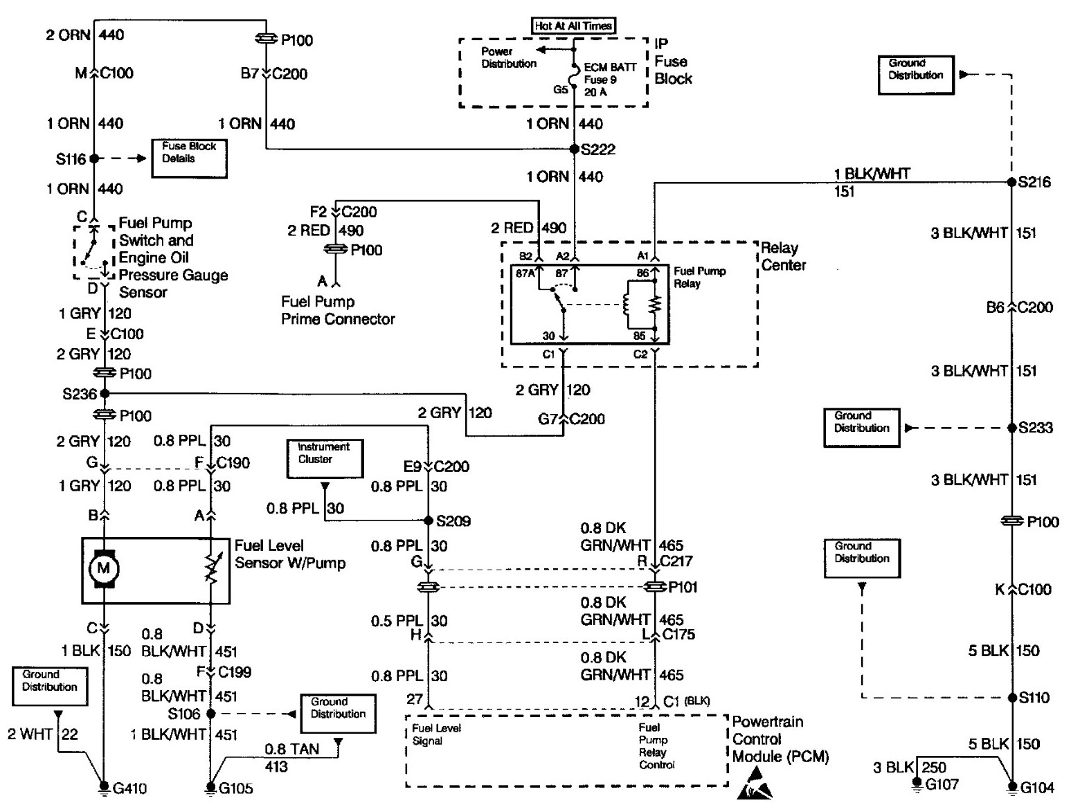 Fuel Pump Wiring Diagram 1998 Chevy Truck from ww2.justanswer.com