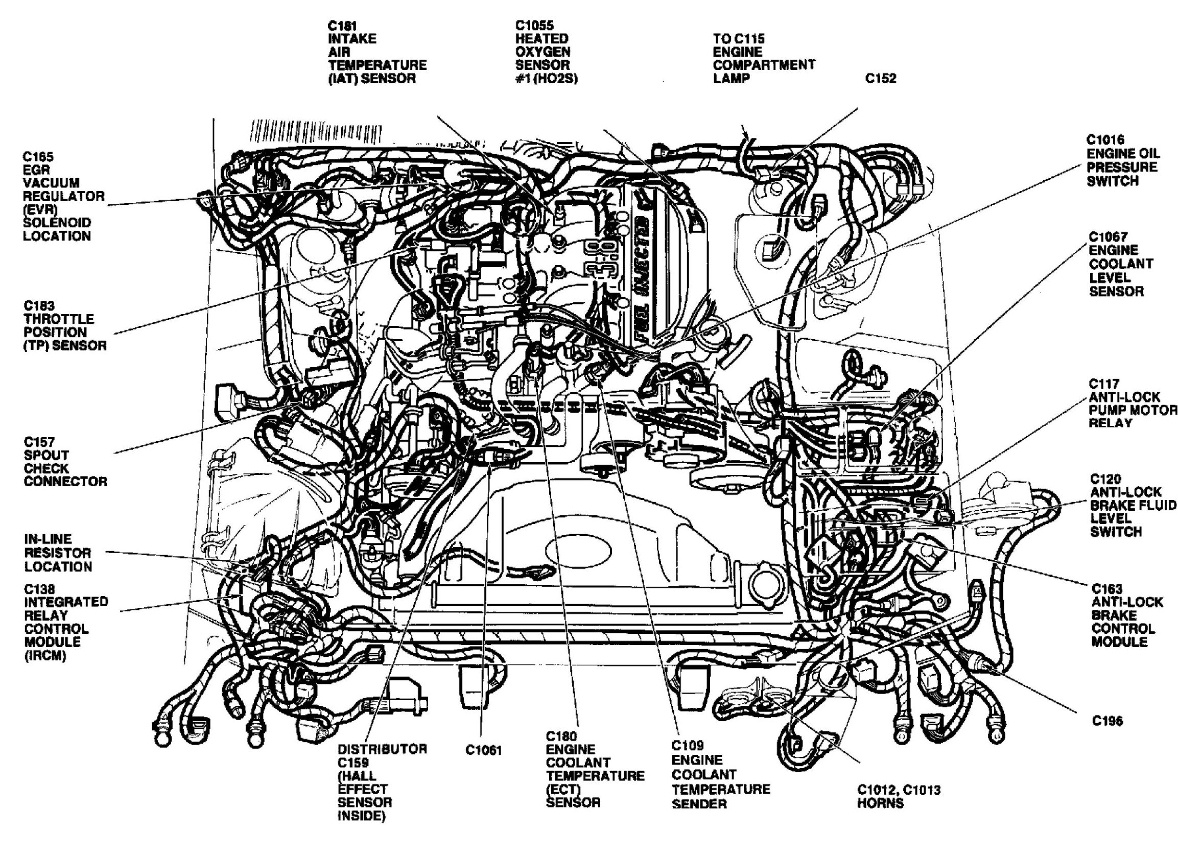 1991 mercury grand marquis parts diagram html