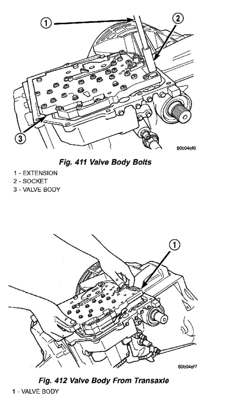how do i change the solenoid pack on the transmission in a