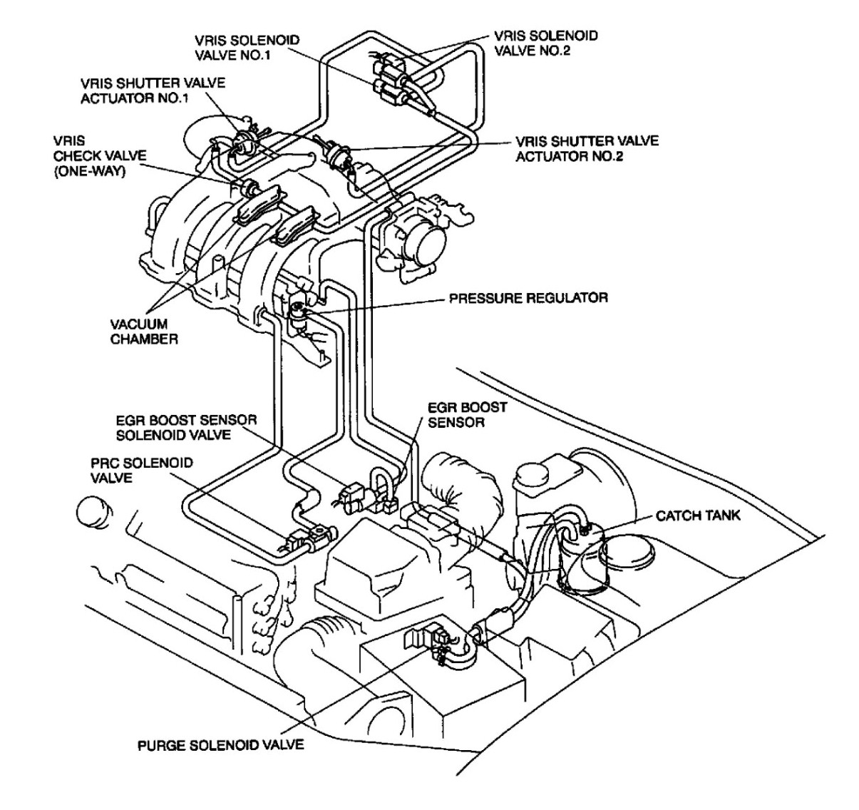 engine diagram 2000 mazda 626